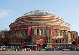 The Royal Albert Hall - DC Site Services working at BBC Proms in the Park 2013