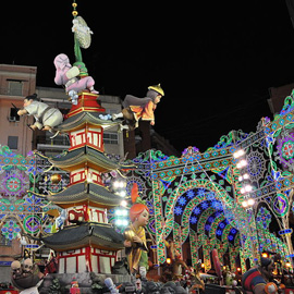 Best European 2013-2014 Autumn and Winter Festivals Guide - Las Fallas, Valencia by Keith Ellwood