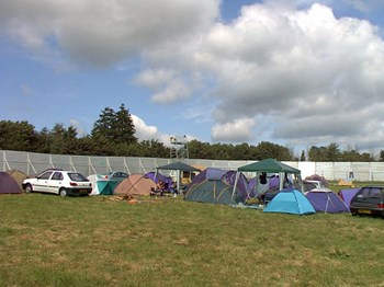 Our Little Camp Pre Oxfam Invasion