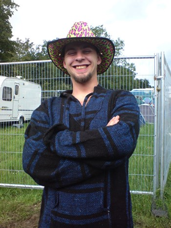 Glastonbury2007 Seta Markh Q Aaron Loved His New Job As Offical DCSS Jester
