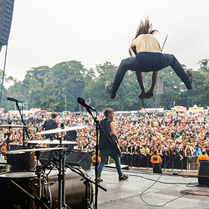 2014 Leeds Festival Guide, Hints and Tips - While She Sleeps on the main stage by Danny North